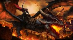 Aegon rode Balerion The Black Dread - A Song of Ice and Fire #got #agot #asoiaf