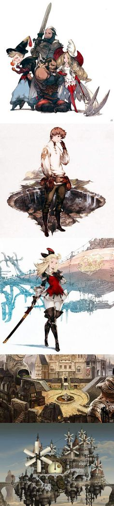 Bravely Default, I want this game so bad! Why do we have to wait till February!?