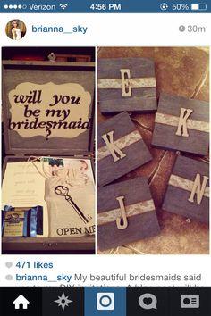 """""""Will you be my bridesmaid?"""""""