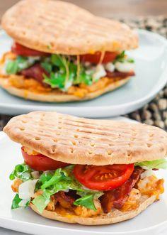 BBQ Ranch Chicken Sandwiches