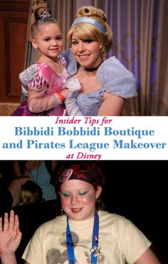 Be a pirate or a princess for a day at Walt Disney World with these insider tips for making the most of a makeover visit to the Bibbidi Bobbidi Boutique or Pirates League.