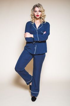 Pattern Refresh: The Carolyn Pajamas   Closet Case Files   Bloglovin'
