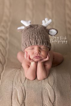Amy Raab Photography » Birmingham Newborn Photographer. Specializing in Newborn, Child & Family Photography. baby deer. woodland newborn session