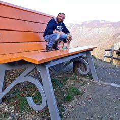 Il Gigante Tavoli Da Giardino.34 Fantastiche Immagini Su Panchine Giganti Panchine Panchina
