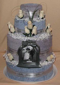 Wedding Towel Cake gift