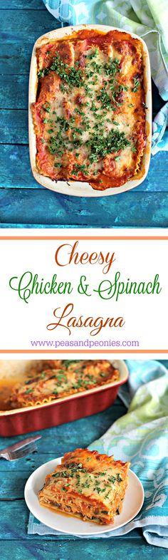 best chicken spinach lasagna
