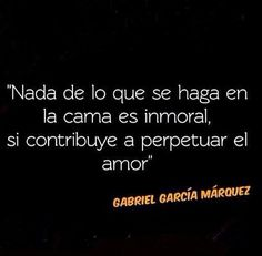 consejo de Gabo para esta noche...