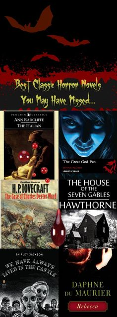 Best Classic Horror Novels You May Have Missed!