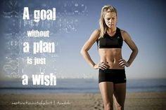 6 week exercise plan!