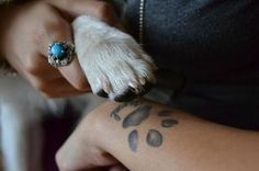 Did this, best tattoo I have! <3 love my dog