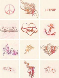 Sample tattoo designs. #tattoo #tattoos #ink