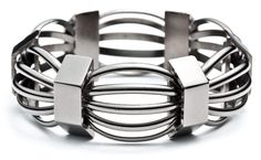 "LOVE this SO much -- I know I would get a lot of wear out of this gunmetal finish bangle (""Manifold"") by jewellery designer Eddie Borgo. But for nearly six bills, it won't be adorning my wrist anytime soon..."