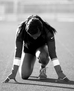 """""""Work hard and dream big. All things are possible."""" -Shelly-Ann Fraser-Pryce #NikeWomen"""