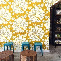 16 Beautiful Wallpapers from Readers   Design*Sponge Photo by instagram.com/melanieabrantesdesigns