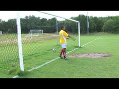 Soccer Drill: How To Play Goalie