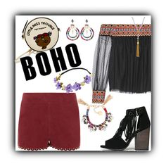 So Boho by yvonnewarren on Polyvore featuring polyvore, fashion, style, Alice + Olivia, Vanessa Bruno, Chinese Laundry, Olympia Le-Tan, Anton Heunis, Henri Bendel, Zodaca and clothing