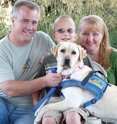 A canine companion gave this Sacramento family...a new leash on life