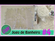 Jogo de Banheiro em Crochet com Barbante #4