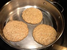 panqueques sin harina con solo 3 ingredientes- cocción