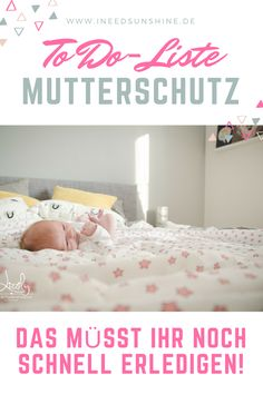 Schwangerschaft & Geburt: To Do-Liste für letzte Vorbereitungen im Mutterschutz… Pregnancy & childbirth: To-do list for final maternity protection before the baby comes! Tips for pregnant women: you should definitely think about that! Tips For Pregnant Women, Pregnant Mom, Baby Toys, Nursery Twins, Baby Care Tips, Baby Supplies, Baby Arrival, After Baby, Baby Coming