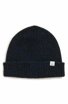 6ac77a52d12e3 Main Image - Norse Projects Lambswool Rib Knit Cap Norse Projects