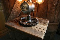 Astonishing Steampunk Tripod Lamp Floor Lamp Steampunk Octopus Lamp