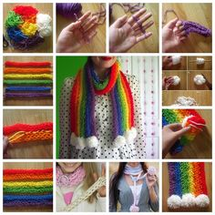 Have you never knitted before ? Try this interesting finger knitting technique that requires very few materials and takes...