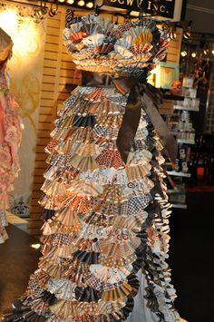 DCWV Natural Stack Dress