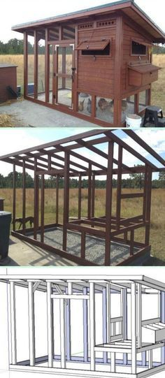 Chicken Coop - More ideas below: Easy Moveable Small Cheap Pallet chicken coop ideas Simple Large Recycled chicken coop diy Winter chicken coop Backyard designs Mobile chicken coop On Wheels plans Projects How To Build A chicken coop vegetable garden Step