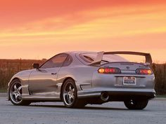 Toyota Supra. This had been my dream car since i was a little girl!!!!  It will be mine!!!