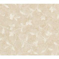 Taupe Mini Vine Wallpaper