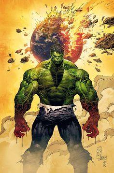 Hulk by  Marc Silvestri