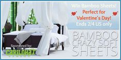 #Giveaway: Enter To #Win Cariloha Bamboo Sheets! - Jenn's Blah Blah Blog - Travel, Recipes, Tech Talk, Giveaways and Sweepstakes, Product Re...
