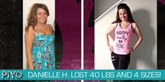 PiYo Results: Danielle Lost 40 Pounds and Improved Her Flexibility - Beachbody Challenge Before & After Photo's - Fitness Transformation Piyo Results, Workout Results, Free Beach Body, Beachbody Piyo, Pilates Benefits, Beach Body Challenge, Fitness Transformation, Transformation Tuesday, Flexibility Training