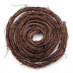Our Twig Garland will add a primitive look to windows, doorways, mantels, tables, columns, archways and more. The natural twig garland measures 1/2 inches thick x 15 feet long.