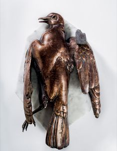 Fowl Play Series  Bronze, semi-precious stone, marble 35 x 22 x 14 cm Edition of 10 with 1 AP and 1 FP (each) Sculptures, Lion Sculpture, Bronze Age, Modern Materials, Marble, Southern, Statue, Play, Granite