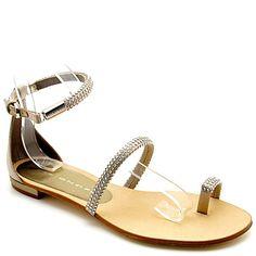 sandálias com cristais - Luis Onofre