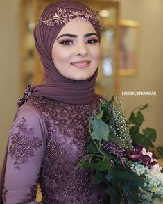 Image may contain: 1 person, closeup hochzeitsgast Muslimah Wedding Dress, Hijab Wedding Dresses, Dress Wedding, Dresses Elegant, Most Beautiful Dresses, Vestidos Vintage, Vintage Dresses, Muslim Dress, Man Fashion