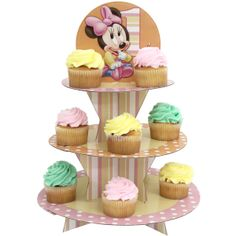 Disney Mickey Mouse Clubhouse Cupcake Stand Mice Cupcake stands