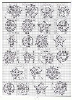 sun moon stars alphabet