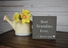 Grandmother Gift, Mothers Day Gift for Grandmother, Nana Gift Nana Gifts, 21st Gifts, Gifts For Dad, Mother Day Gifts, Cottage Signs, Beach Cottage Decor, Grandmother Gifts, Grandmothers, Rustic Paint Colors