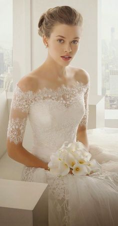 Lace wedding dresses 2018 Sexiest Off The Shoulder Wedding Dresses - MODwedding