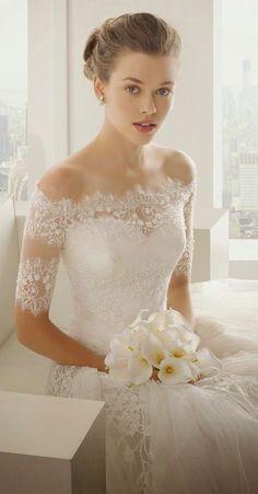 Sexiest Off The Shoulder Wedding Dresses - MODwedding - cheap summer dresses, cute pink dresses, designer formal dresses *ad