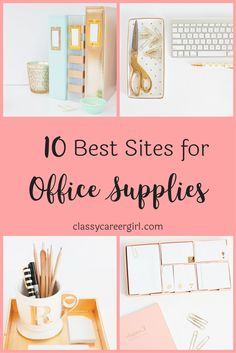 Cute Office Decor Workspace Inspiration - Home Office Decor - Desk Decor - Office Organization - Desk Organization - Small Office Decor - Scandinavian Home Office - Office Supplies Cute Office, Office Inspo, Home Office Design, Home Office Decor, Home Decor, Office Designs, Office Table, Office Art, Office Furniture