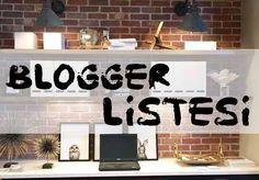 Kategorilerine Göre Bloggerlar