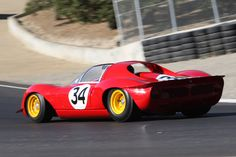 Ferrari 206 S Dino Spyder (Chassis 026 - 2007 Monterey Historic Automobile Races) High Resolution Image My Dream Car, Dream Cars, Ferrari Racing, Vintage Race Car, Alfa Romeo, Nascar, Cars And Motorcycles, Muscle Cars, Hot Rods