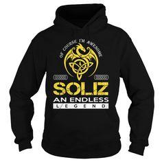 SOLIZ An Endless Legend (Dragon) - Last Name, Surname T-Shirt