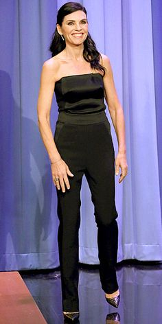 JULIANNA MARGULIES on Jimmy Fallon. So simple, so Perfect!!!