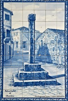 Tabuaço Iberian Peninsula, Portuguese Tiles, Lisbon, Thesis, Landscapes, Spain, Blue And White, Ocean, Graphics