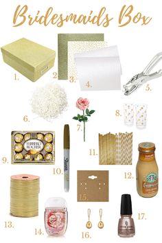 Bridesmaids Box                                                       …